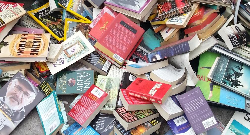 book dump