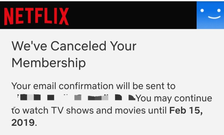 Netflix, I'm leaving you
